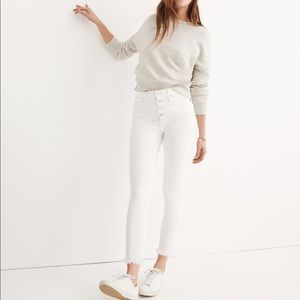 """Madewell 10"""" high-Rise Cropped Skinny Jeans"""